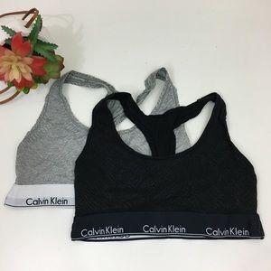 Calvin Klein bralette bundle